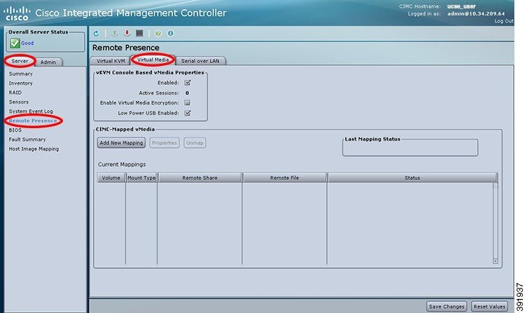 GUI Configuration Guide for Cisco UCS E-Series Servers and the Cisco