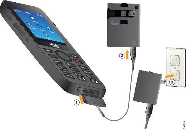 Cisco Wireless IP Phone 8821 and 8821-EX User Guide - Phone Setup ...