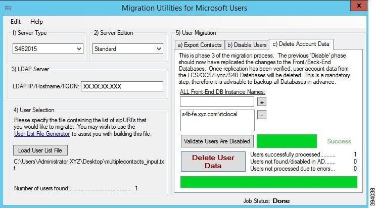Migration Utilities for Microsoft Users - Cisco