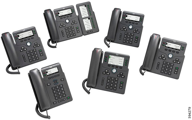 Cisco IP Phone 6800 Series Multiplatform Phones User Guide