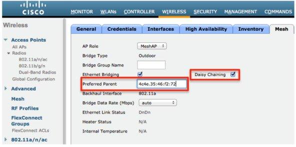 Cisco Wireless Controller Configuration Guide, Release 8 1