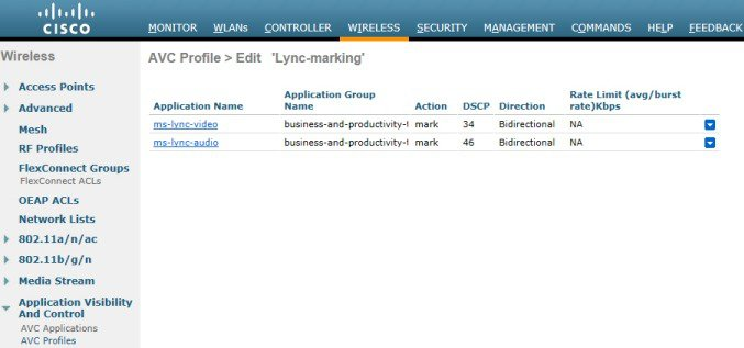 Microsoft Lync Client/Server in a Cisco Wireless LAN - Cisco
