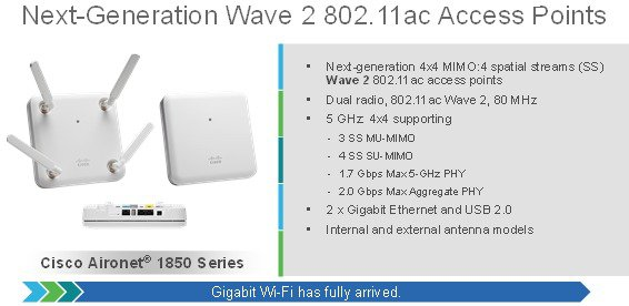 Cisco Aironet Series 1830/1850 Access Point Deployment Guide - Cisco