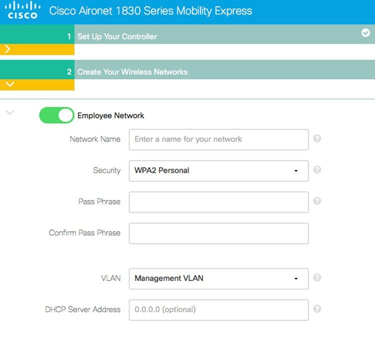 Cisco Mobility Express User Guide for Release 8 1 - Getting