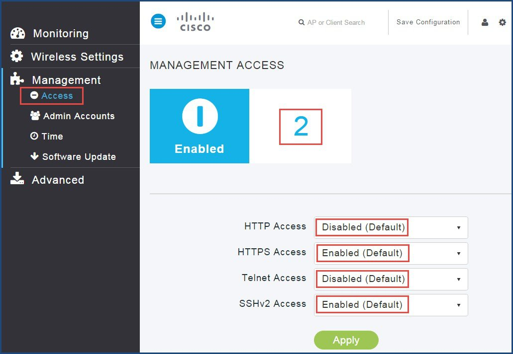 Cisco Mobility Express Deployment Guide - Managing Mobility