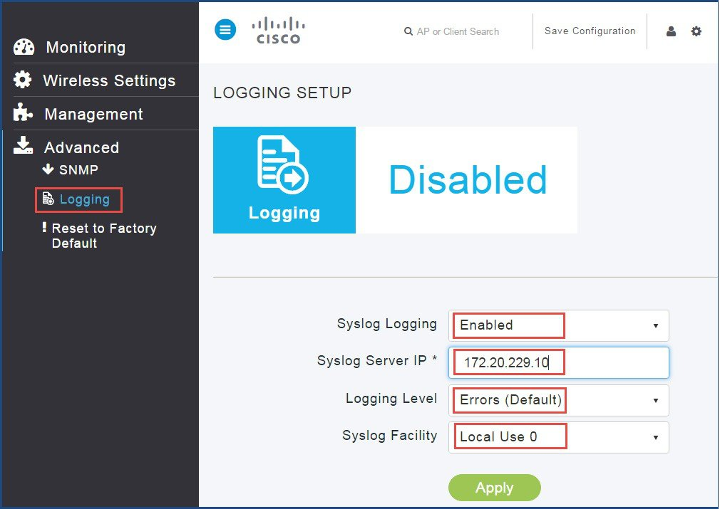 how to set ip address cli