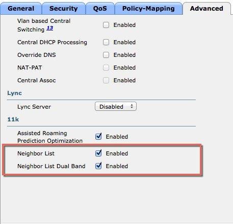 Enterprise Mobility 8 1 Design Guide - 802 11r, 802 11k