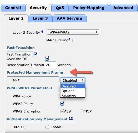 Enterprise Mobility 8 5 Design Guide - 802 11r, 802 11k, 802 11v