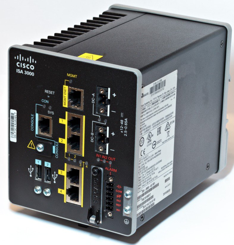 Cisco ISA 3000 Industrial Security Appliance Hardware
