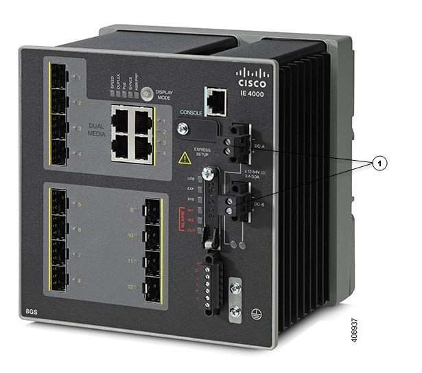 Cisco IE 4000 Switch Hardware Installation Guide - Switch ...