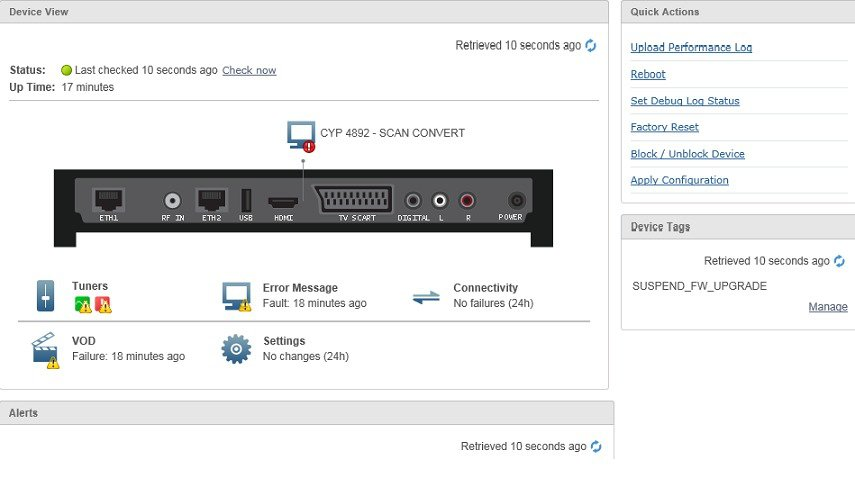 Cisco Prime Home User Guide 6 5 1 - Viewing Set-Top Box Data