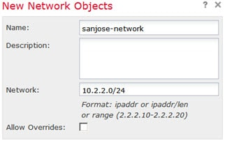 sanjose-network object.