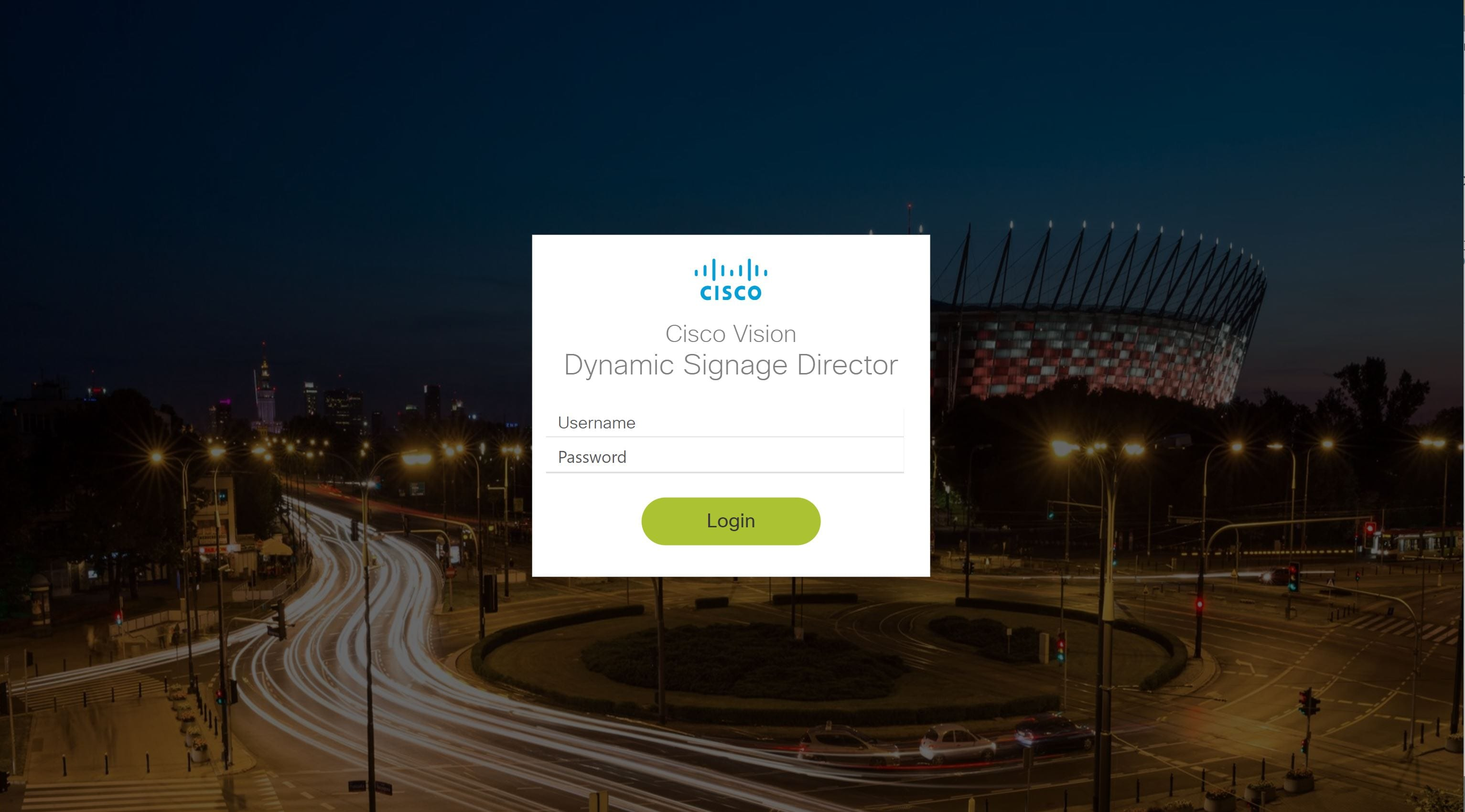 Release 6 1: Cisco Vision Dynamic Signage Director