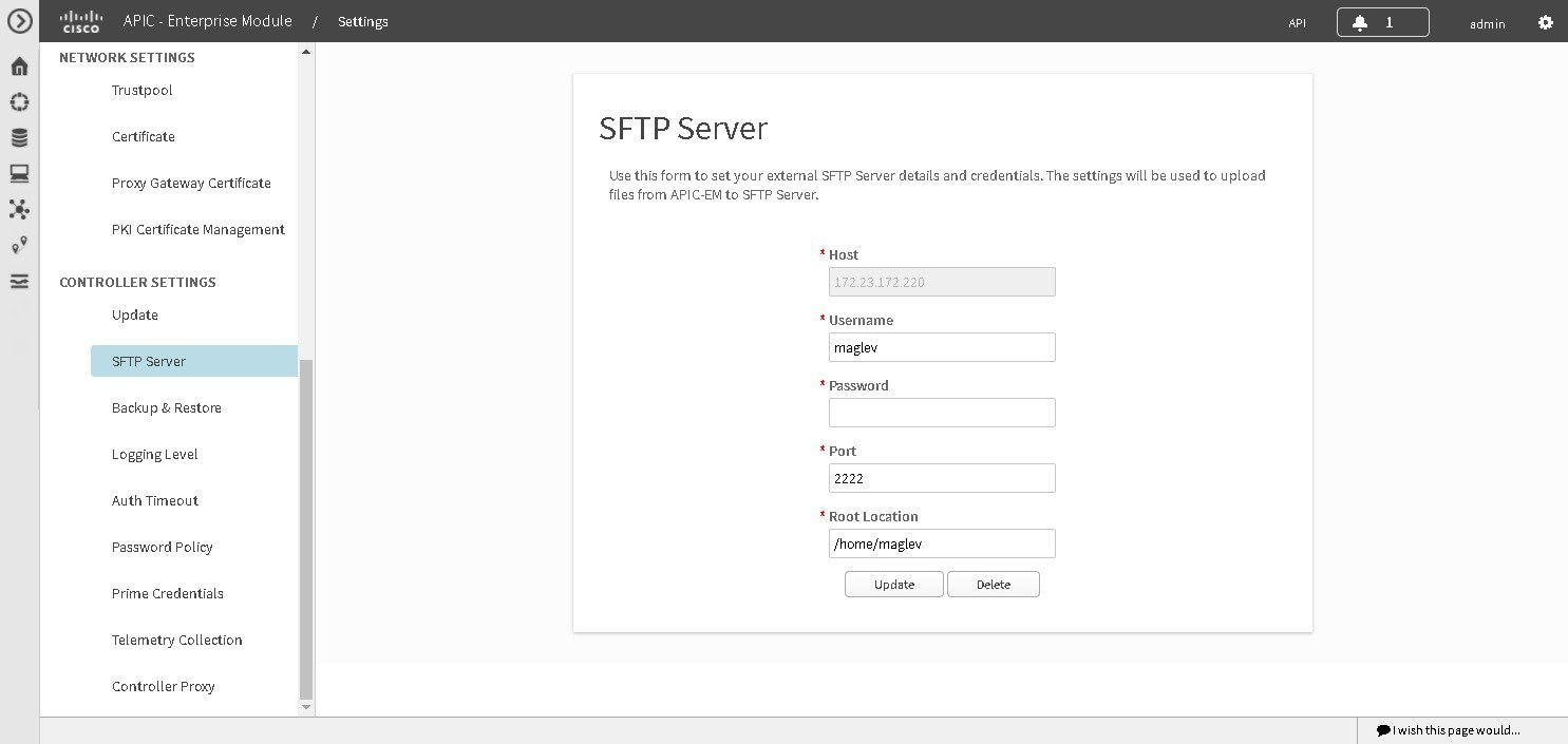 Cisco Application Policy Infrastructure Controller