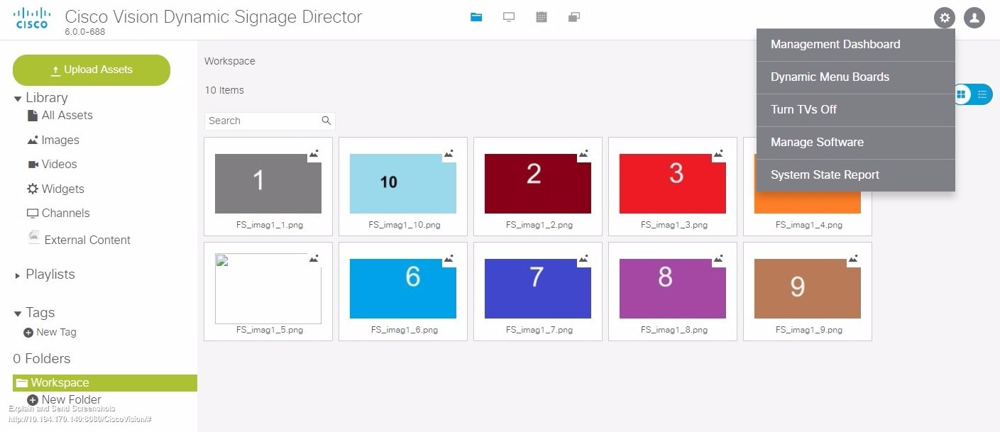 Cisco Vision Dynamic Signage Director Release Notes for Release ...