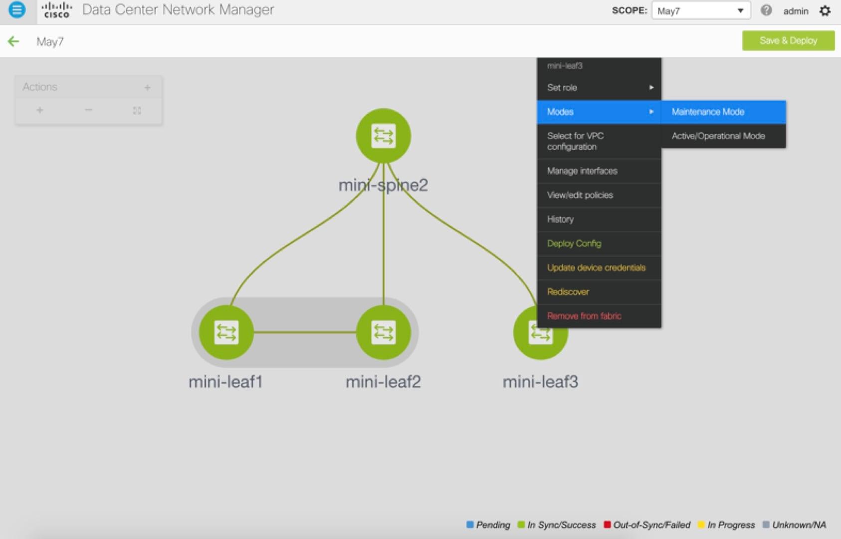 Cisco DCNM LAN Fabric Configuration Guide, Release 11 0(1