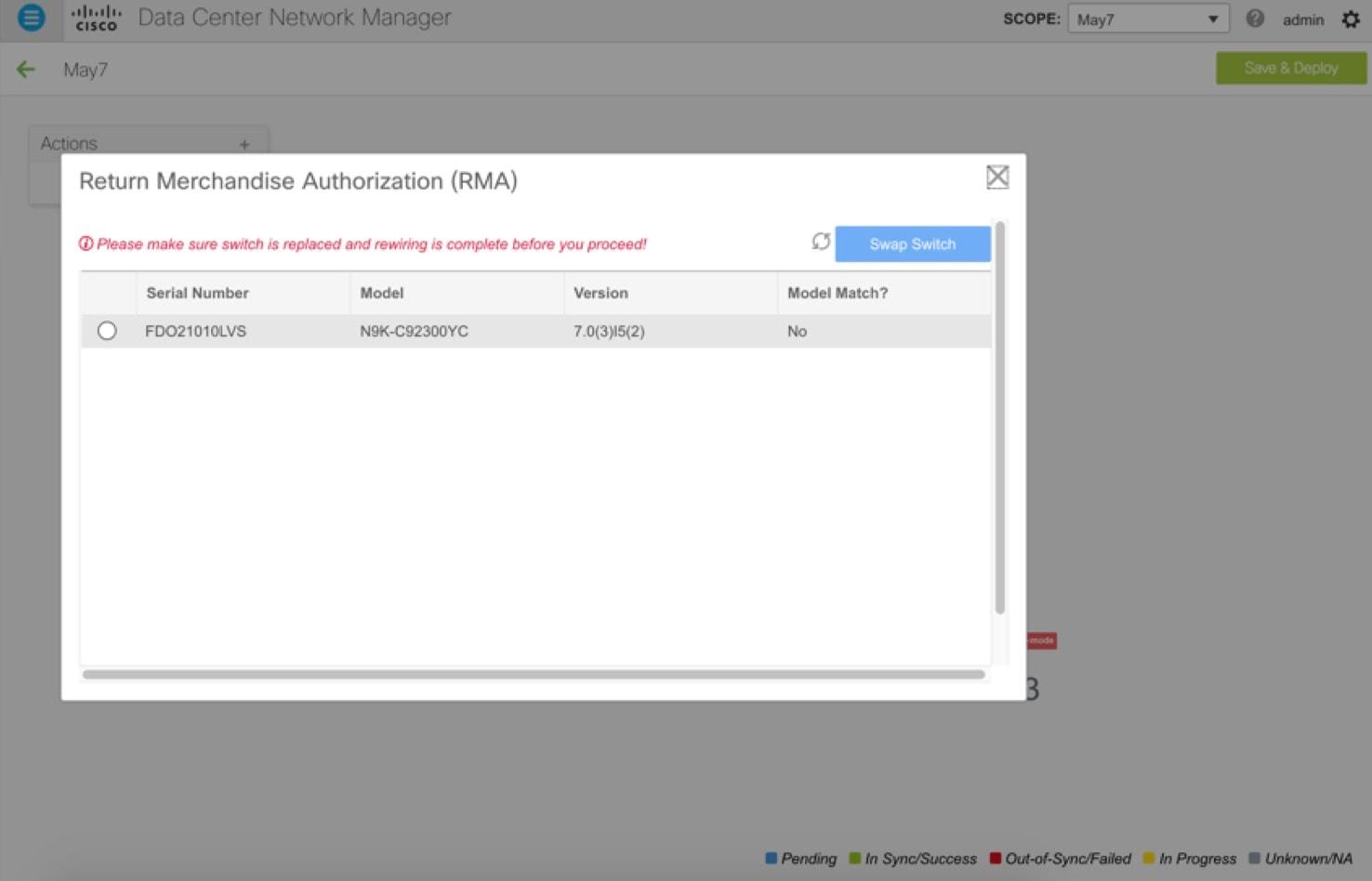 Cisco DCNM LAN Fabric Configuration Guide, Release 11 1(1