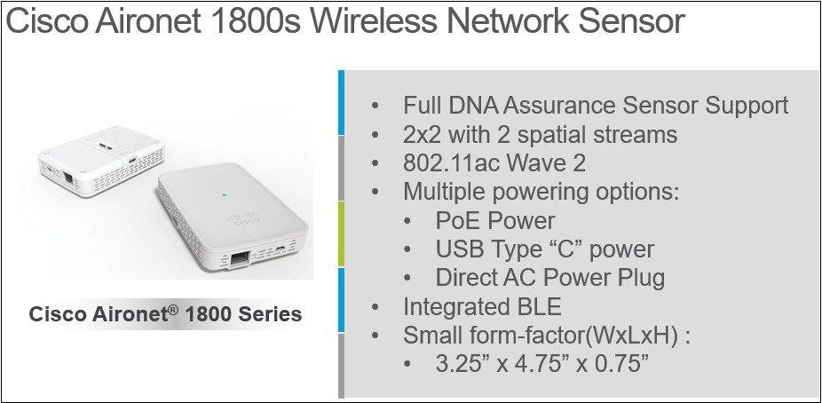 Cisco Aironet Sensor Deployment Guide - Cisco
