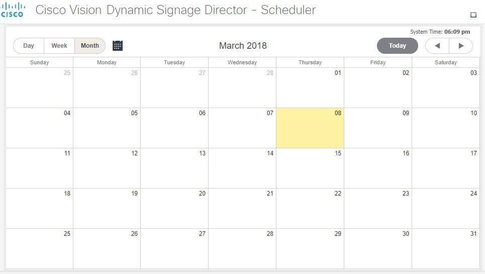 Release 61 Cisco Vision Dynamic Signage Director Operations Guide