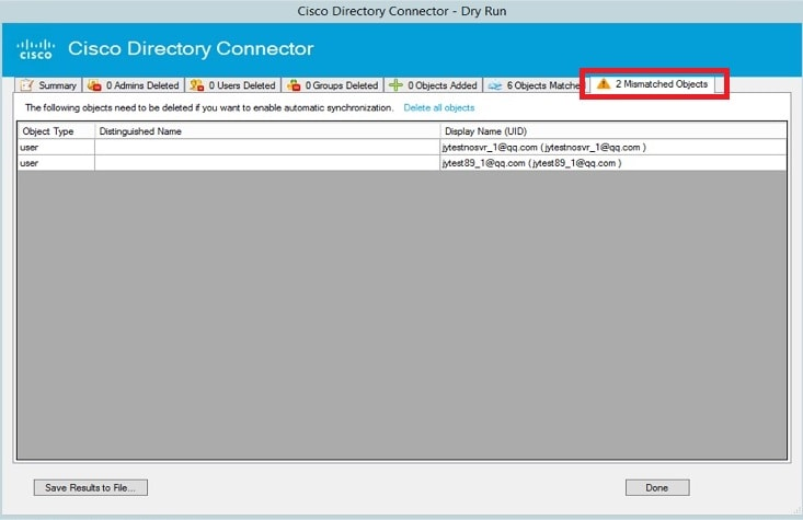 Deployment Guide for Cisco Directory Connector - Deploy