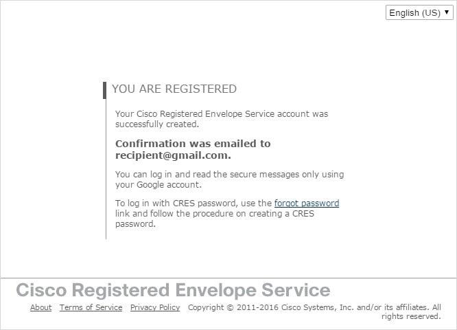 Cisco Registered Envelope Service 5 4 0 Recipient Guide