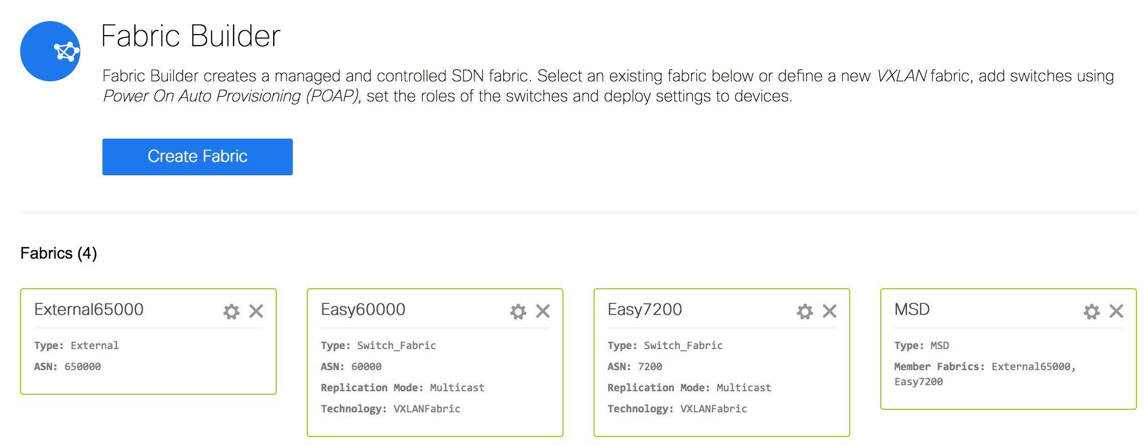 Cisco DCNM LAN Fabric Configuration Guide, Release 11 1(1) - Control