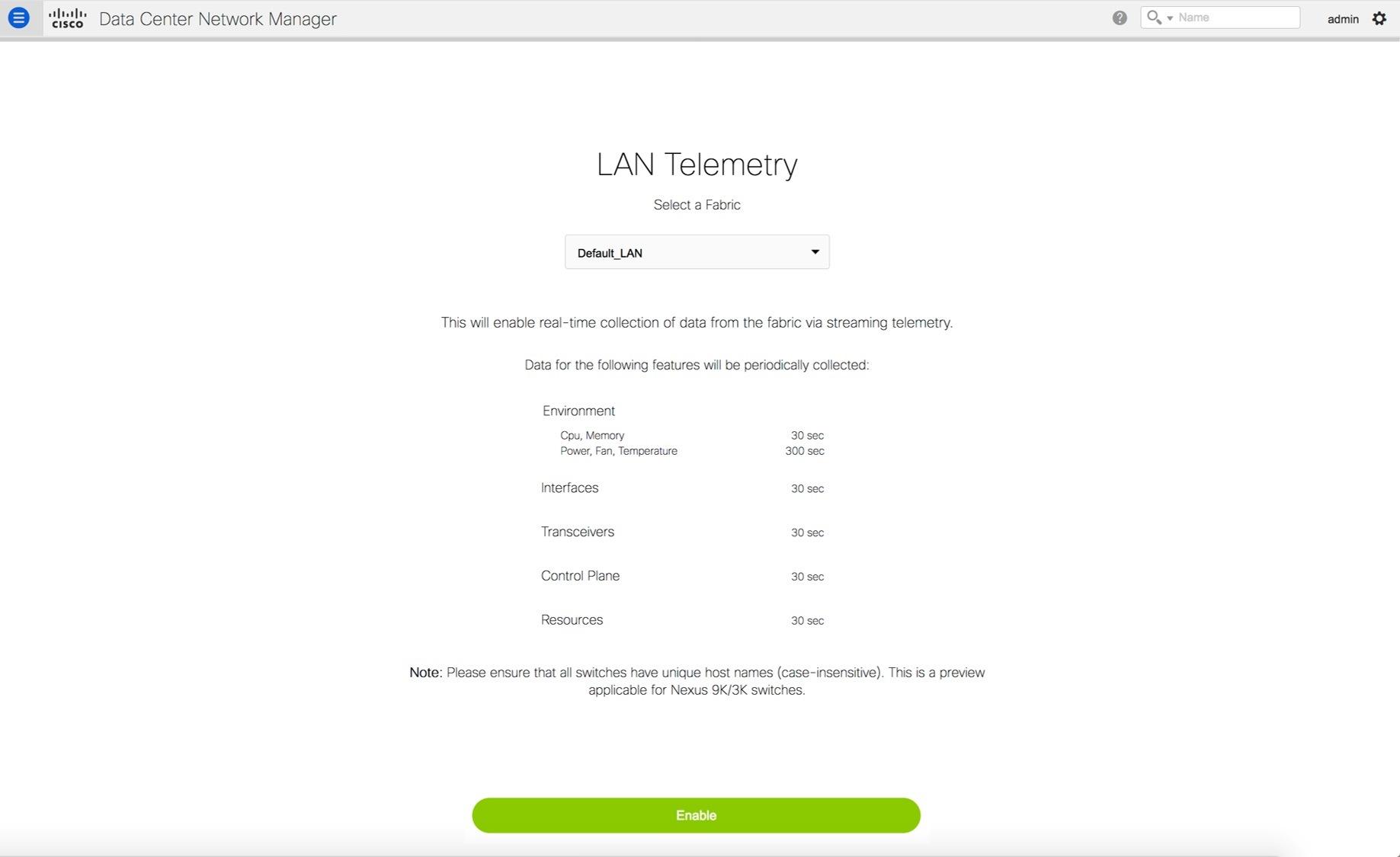 Cisco DCNM Classic LAN Configuration Guide, Release 11 1(1