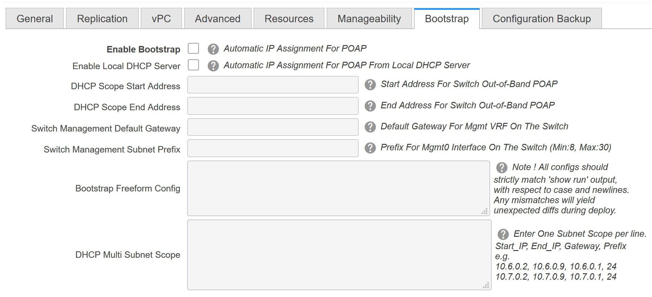 Cisco DCNM LAN Fabric Configuration Guide, Release 11 2(1