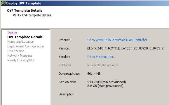 Cisco Catalyst C9800-CL Wireless Controller Virtual Deployment Guide