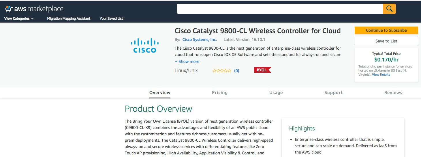Deployment guide for Cisco Catalyst 9800 Wireless Controller
