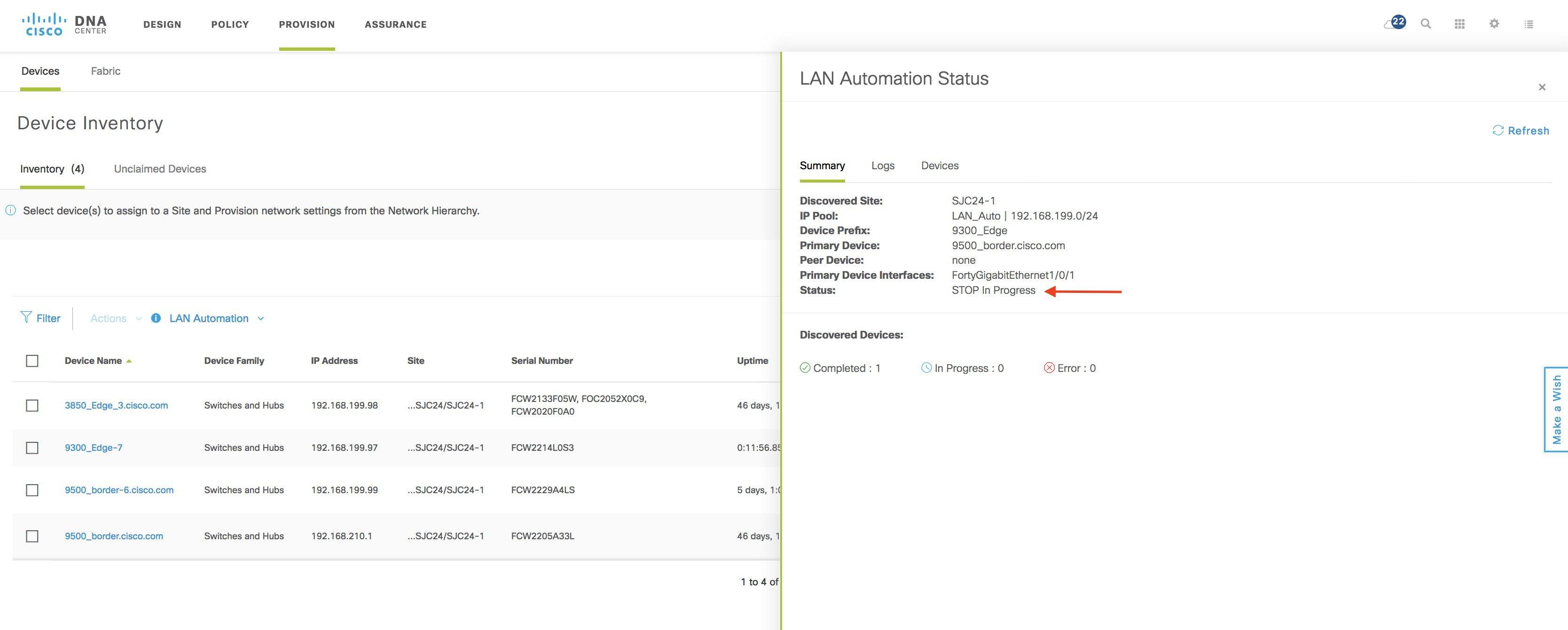 Cisco DNA Center SD Access LAN Automation Deployment Guide - Cisco