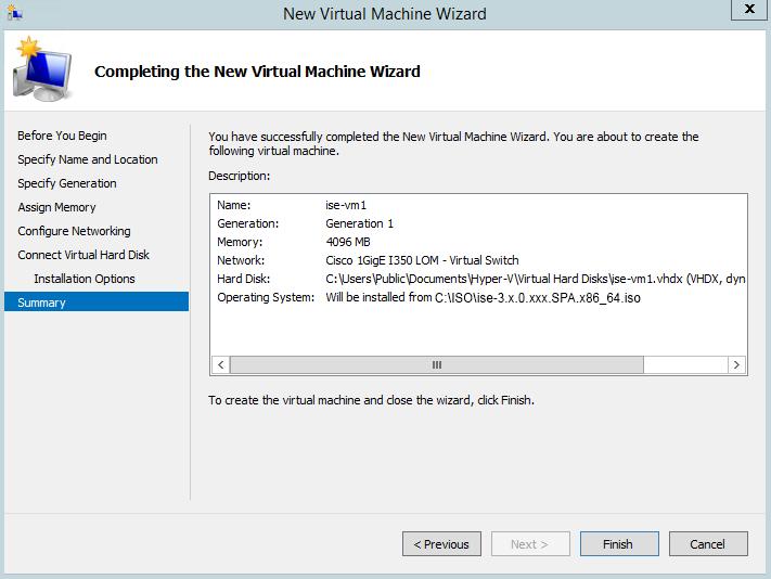 Cisco Identity Services Engine Installation Guide, Release