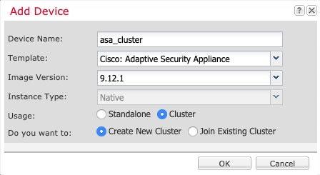 Deploy a Cluster for ASA on the Firepower 4100/9300 for