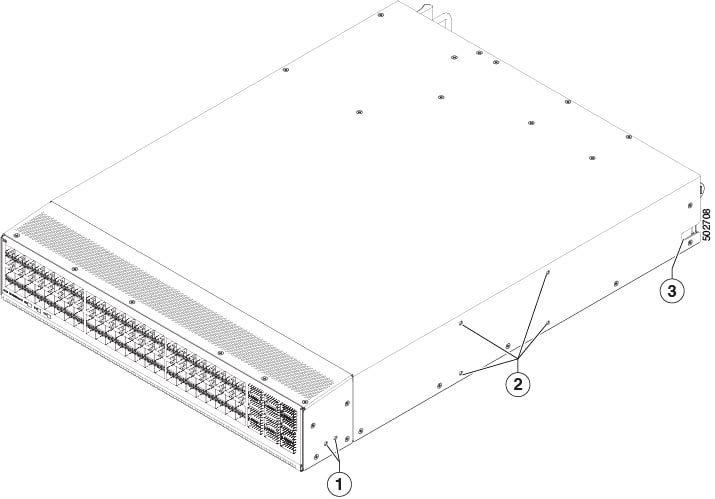Cisco Nexus 93360YC-FX2 NX-OS Mode Switch Hardware Installation