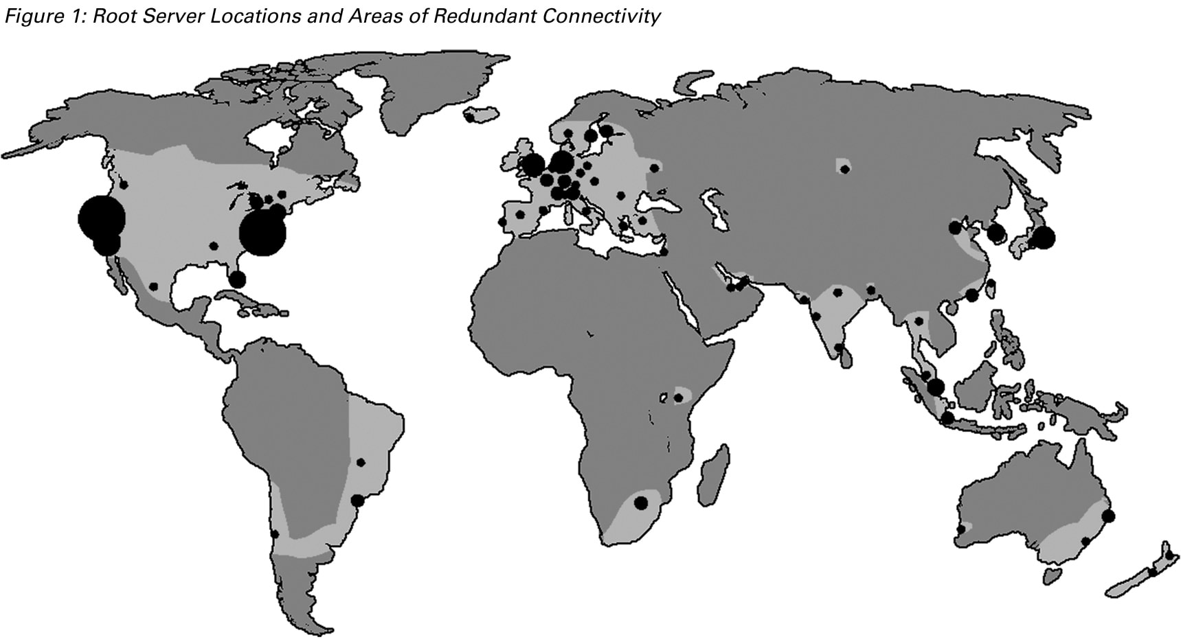 Geographic Implications of DNS Infrastructure Distribution
