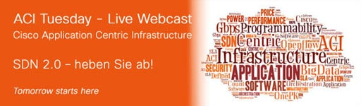 Live Webcast: Cisco Application Centric Infrastructure