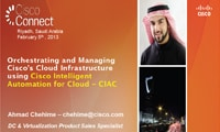 Orchestrating and Managing Cisco's Cloud Infrastructure