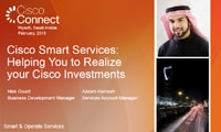 Cisco Smart Services: Helping You to Realize your Cisco Investments