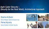 Agile Cyber Security – Security for the Real World, Architectural Approach