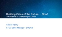 Building Cities of the Future... Now!