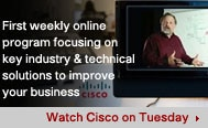 Watch Cisco on Tuesday