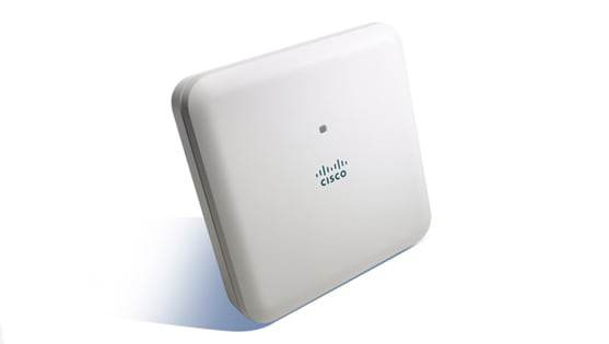 Cisco Aironet 1850 Series Access Points. Tool tip 1: Improved client performance with multi-use multiple input & multiple output. Tool tip 2: Better WiFi coverage and performance with the latest WiFi technology