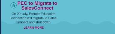 PEC to Migrate to SalesConnect