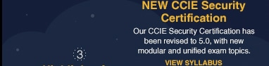 NEW CCIE Security Certification