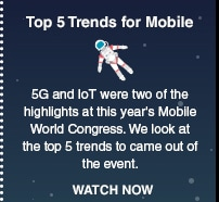Top 5 Trends for Mobile
