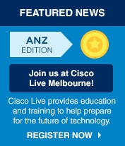 Join Us at Cisco Live Melbourne