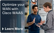Optimise your WAN with Cisco WAAS