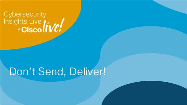 Don't Send, Deliver!