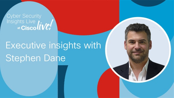 Executive Insights with Stephen Dane