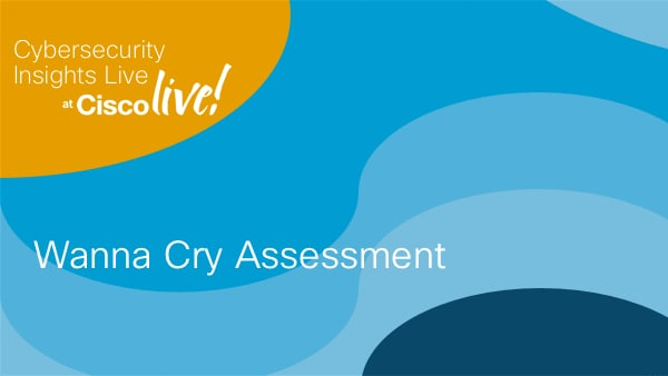 Wanna Cry Assessment